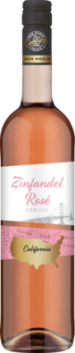 OverSeas Zinfandel medium-sweet Kalifornien rosé