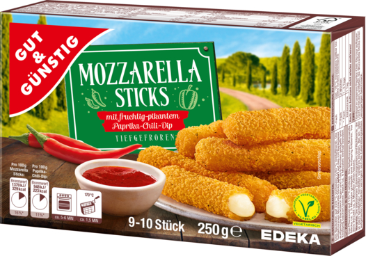 gut g nstig mozzarella sticks edeka. Black Bedroom Furniture Sets. Home Design Ideas