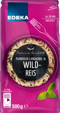 Parboiled Langkorn- & Wildreis