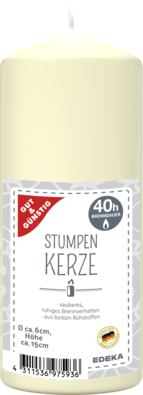 Stumpenkerze 150/60 mm, creme