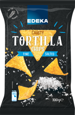 Tortilla-Chips Natural Salted