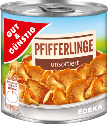 Pfifferlinge, unsortiert