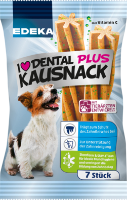 I love Dental Plus Kausnack