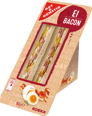 Sandwich Ei-Bacon