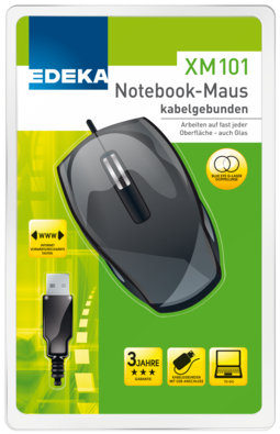 Notebook-Maus XM 101