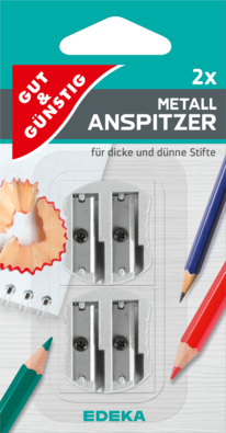Metallanspitzer, 2er-Pack