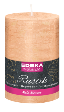 Rustik Stumpenkerze 130/70 mm, beige