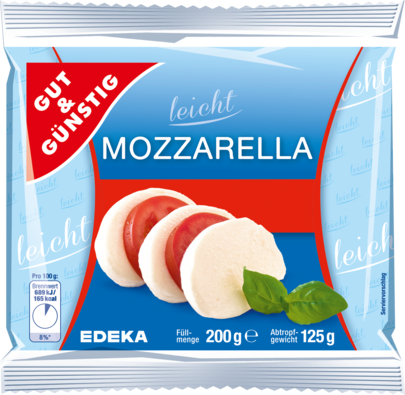 Mozzarella 8,5% absolut