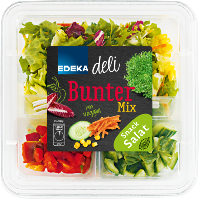 Bunter Mix Snack Salat