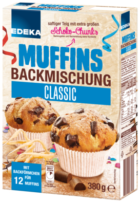 Muffins-Backmischung Classic