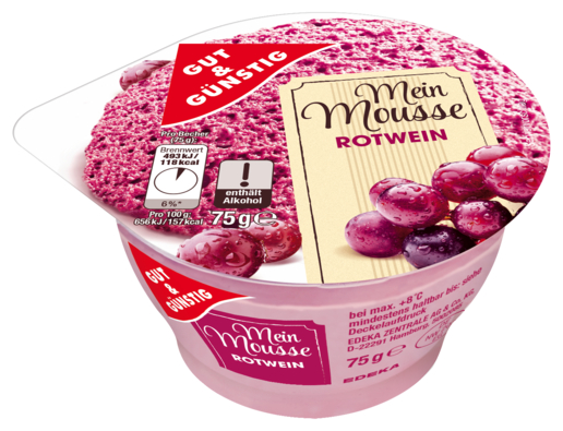 Mousse Rotwein