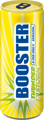 Booster Thunderstorm Energy Drink