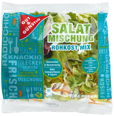 Salatmischung Rohkost-Mix