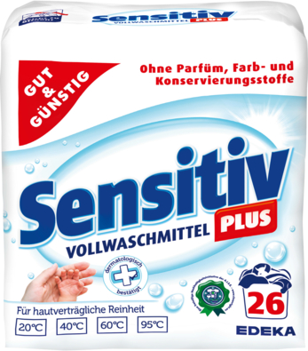 Sensitiv Plus Vollwaschmittel