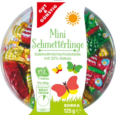 Mini-Schmetterlinge