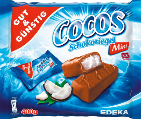 Mini-Cocos-Schokoriegel