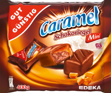Mini-Caramel-Schokoriegel