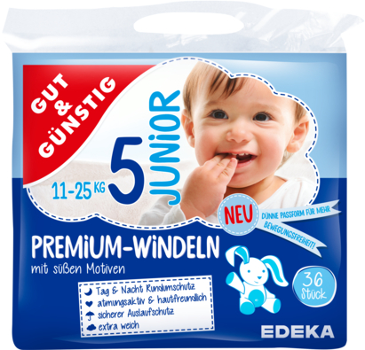 Windeln Premium junior 11-25 kg