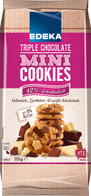 Mini Cookies Tripple Chocolate