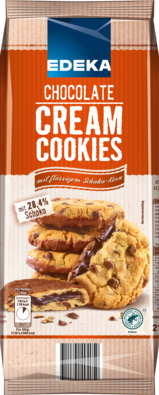 Chocolate Cream Cookies