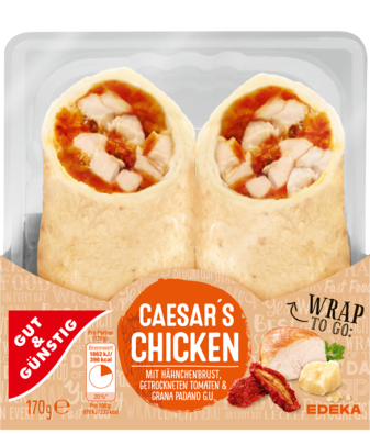 Wrap Caesar's-Chicken