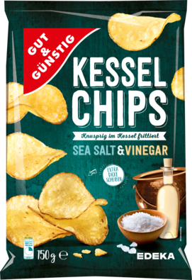 Kesselchips Sea Salt & Vinegar