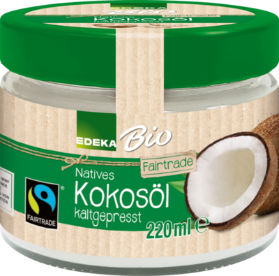 Fairtrade Kokosöl