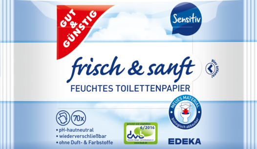 Sensitive Feuchtes Toilettenpapier