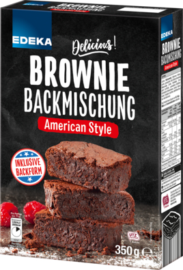 Brownie Backmischung