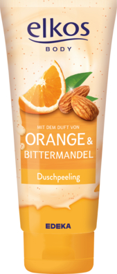 Duschpeeling Orange & Bittermandel