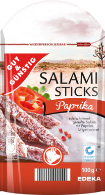 Salami Sticks, Paprika