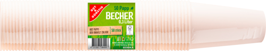 Picknick-Becher 0,3 l