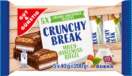 Crunchy Break Riegel